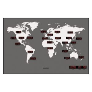 Present time Horloge murale design worldwide