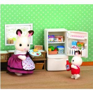Epoch Sylvanian Families 3566 - Set réfrigérateur
