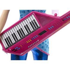 Mattel Barbie amie rock'n royale Rayna avec guitare synthétique