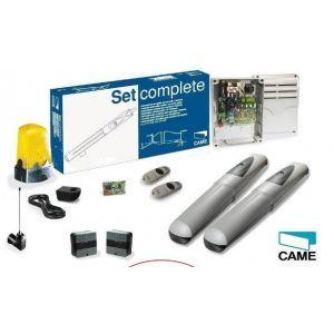 Came 001U7321FR - Kit complet Axo3 24V portail 2 battants 2 émetteurs 868 MHz max 3 m ou 500 kg