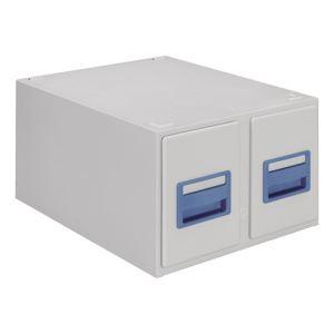 Valrex Fichier à tiroirs et stands pour fiches (A6)