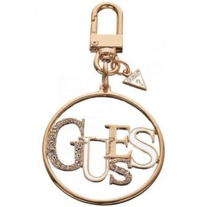 Guess UBC10906 - Charm disque couleur or rose