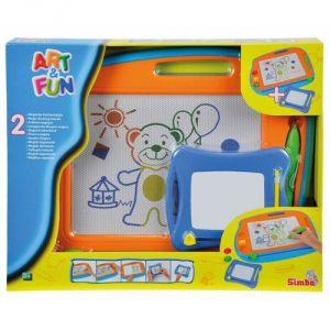 Simba Toys Art & Fun 2 ardoises magiques