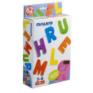 Miniland Baby Lettres majuscules magnétiques (62 pièces)