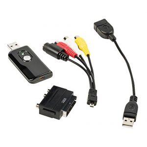 König Boîtier de capture vidéo analogique USB RCA + S-video