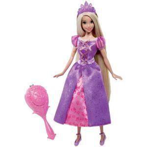 Mattel Poupée Raiponce cheveux magiques