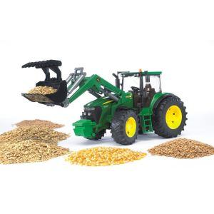 Bruder Toys 3051 - Tracteur John Deere 7930 avec chargeur frontal - Echelle 1:16