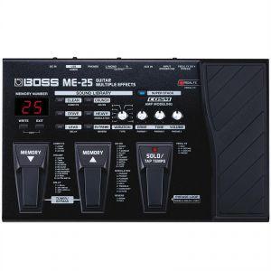 Boss Effect ME-25 - Multi effets guitare électrique