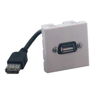 MCL Samar BM802/USB - Plastron USB A femelle / A femelle
