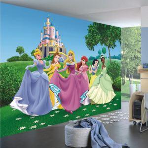 """Papier peint XXL """"Château Princesse Disney"""" (270 x 360 cm)"""