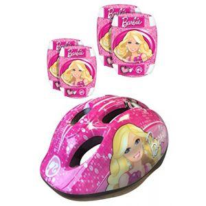 Stamp K813507 - Protections - Casque + Coudières/Genouillères Barbie