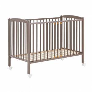 Combelle Lit bébé à barreaux laqué (120 x 60 cm)