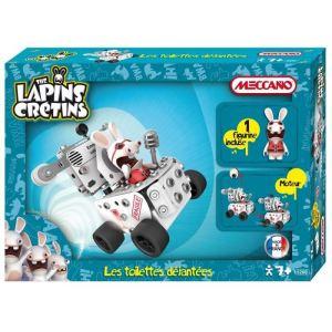 Meccano 895260 - Lapins crétins : Les toilettes déjantées