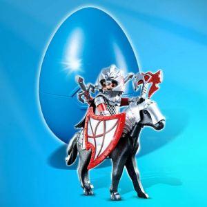 Playmobil  4937 : Oeuf surprise Cavalier avec armure et cheval  pas cher