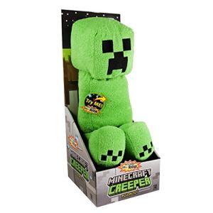 J!nx Peluche sonore Minecraft Creeper