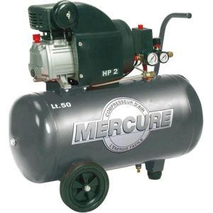 Mercure 425702 - Compresseur coaxial 50L 2HP