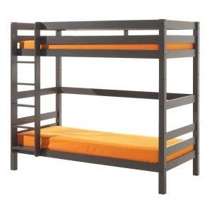 Vipack Furniture Lit Pino superposé haut pour enfant 90 x 200 cm