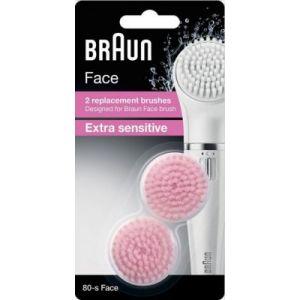 Braun Brossette de rechange pour brosse sensitive