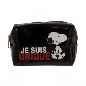 Paris Prix Trousse de toilette rectangle Snoopy