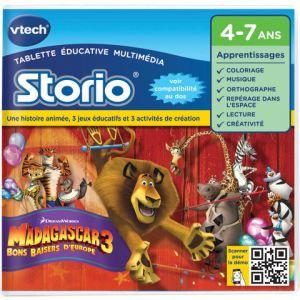 Vtech Jeu tablette Storio 2 : Madagascar 3