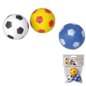 Balles rebondissantes 4 cm 3 couleurs assorties - Utilisation en intérieur