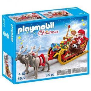 Playmobil 5977 Christmas - Traîneau de renne du Père Noël