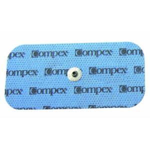 Compex 42222 - 2 électrodes Performance avec 1 connecteur Snap 5 x 10 cm