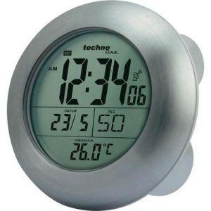 Technoline WT 3000 - Horloge radio-pilotée de salle de bain