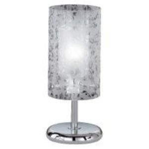 Lampe Imara en chrome et verre
