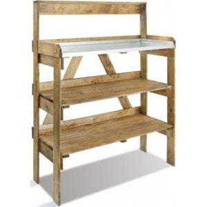 Jardipolys Evolution - Table de préparation avec étagère