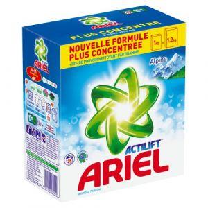 Ariel Lessive poudre Alpine 25 doses