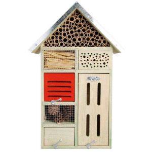 Esschert design WA16 - Hôtel à insectes grand modèle 50 cm