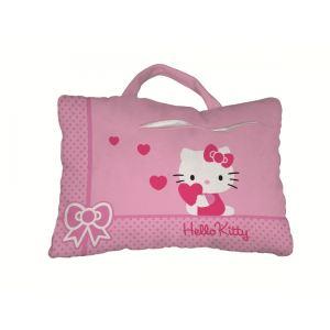 Coussin Hello Kitty en polyester (28 x 42 cm)
