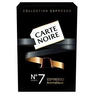 Carte Noire 10 capsules Aromatique intensité N°7 compatibles avec les machines Nespresso