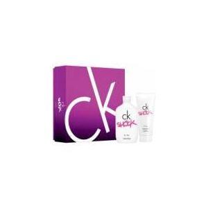 Calvin Klein CK One Shock - Coffret eau de toilette et lait parfumé
