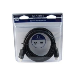 Dacomex Cable Displayport 1.1 3m