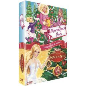 Coffret Barbie - Merveilleux Noël + La Magie de Noël