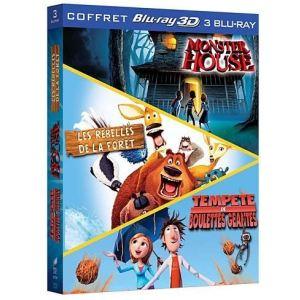 Coffret Tempête de Boulettes Géantes + Monster House + Les Rebelles de la Forêt