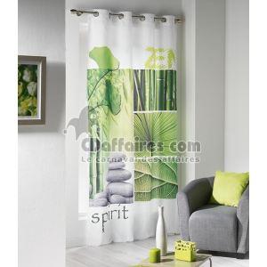 1603988 - Rideau à oeillets imprimé Niagara en polyester (140 x 240 cm)
