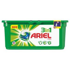 Ariel Lessive 3 en 1 Pods Régulier 30 doses