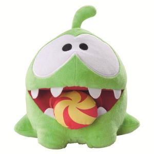 Vivid Peluche sonore Cut the Rope : Om Nom Candy Monster