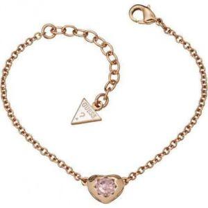 Guess UBB21560 - Bracelet Coeur en métal rosé pour femme