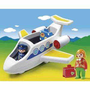 Playmobil 6780 - 1.2.3 : Avion de ligne