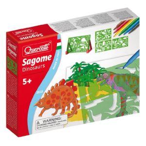 Quercetti Pochoirs Dinosaures