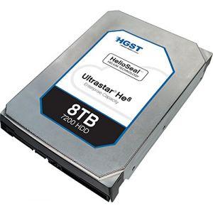 "Hitachi 0F23267 - Disque dur Ultrastar He8 3.5"" 8 To SATA 6Gb/s 7200 tr/min"