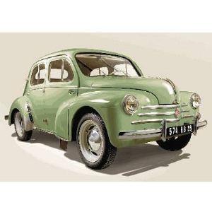 Heller Maquette Renault 4 CV verte - Echelle 1:24