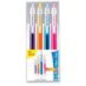 Paper Mate 4 stylos bille Silk Writer pointe moyenne