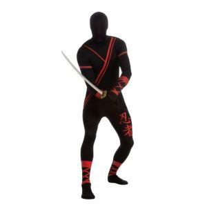 Rubie's Déguisement seconde peau ninja (taille L)