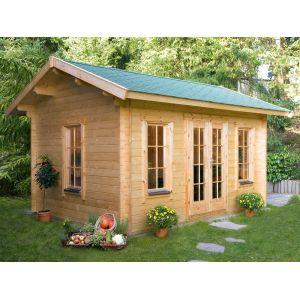 abri de jardin bois 20m2 comparer 169 offres. Black Bedroom Furniture Sets. Home Design Ideas