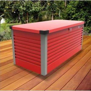 Trimetals Patiobox L - Coffre de rangement en métal 1,46 m2